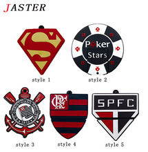 JASTER New Football Team Logo Style !Wholesales Cartoon Team Logos usb 2.0 memory flash stick pen thumb drive gift disk