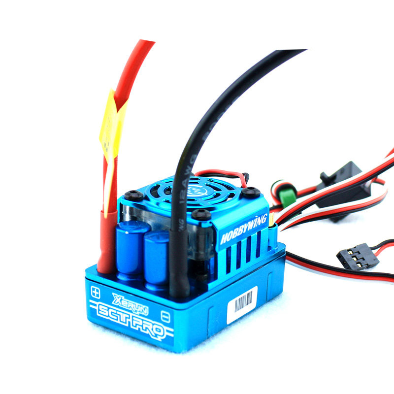 Hobbywing 1:10 Xerun SCT PRO 120A Short Course RC ESC Speed Controller Supported Sensored Brushless Motor Free Shipping<br><br>Aliexpress