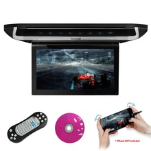"XTRONS 10""HD Digital TFT Monitor Touch Panel Car Roof DVD Player car audio Built-in USB HDMI Port Door Control IR FM transmitter"