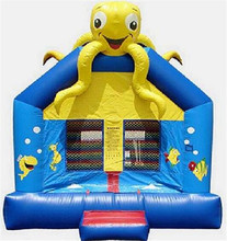 Party fun bouce house, cheap inflatable air bouncer house jumping castle