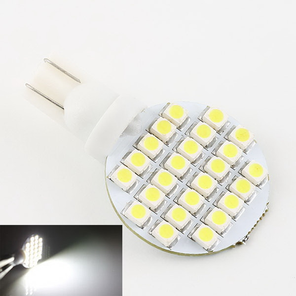 Likebuying 20X T10 194 921 W5W 24 1210 SMD LED Pure White RV Home Spotlight Light Lamp Bulb<br><br>Aliexpress