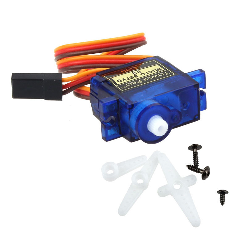 100% NEW SG90 9G micro servo motor TowerPro RC Robot Helicopter Airplane controls for Arduino Dorp Shipping(China)