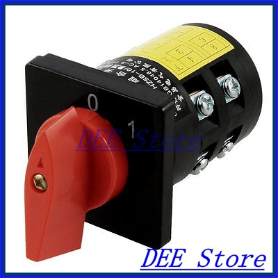 HZ5B-10/2 C003 AC 380V 3KW 0-1 2 Positions Control Combination Switch<br><br>Aliexpress