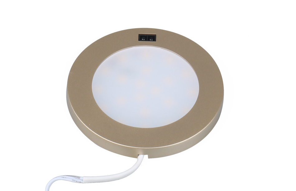 LED Under Cabinet Lights Motion Sensor Round Kitchen Cupboard Lighting Exhibition Bookshelf Furniture Night Light Counter Lamps4