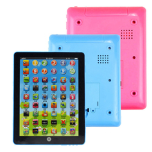 Child Kids Computer Tablet Chinese English Learning Study Machine Toy for Children kids Toy D30(China)