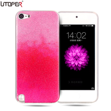Coque For iPod Touch 5 Case Silicon Glitter Ultra Thin Phone Cover For Apple iPod Touch 6 Case Luxury Soft Plastic Shiny Fundas(China)