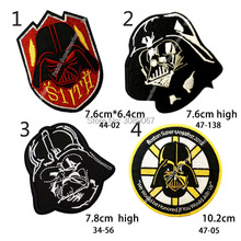 "3"" STAR WARS ""SITH"" Lord Darth Vader Uniform Movie TV Iron On/Sew On Patch Custome Tshirt TRANSFER MOTIF APPLIQUE(China)"