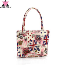 2017 New Fashion Women Bag Messenger Bag Cartoon Style Handbag High Quality Canvas Material Ladies Brand Handbag Women Bandbags(China)