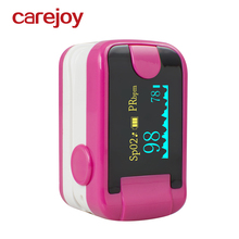 Rose Red Home Health OLED Fingertip Pulse Oximeter With Audio Alarm & Pulse Sound - Spo2 Monitor Finger Puls Oximeter(China)