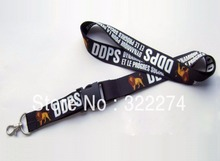 Hot 100pcs custom 15mm Logo text worlds Lanyard/ MP3/4 cell phone/ keychains /Neck Strap Lanyard WHOLESALE direct lanyard maker