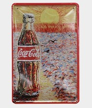 New Classical Coke Chic Home Bar Vintage Metal Signs  vintage bottle art metal poster wall decor
