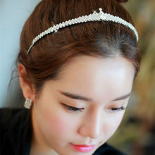 Fashion Shine Women Girl Rhinestone Headband Bridal Wedding hair accessories Princess Crystal tiara Crown Headwear Jewelry YW230