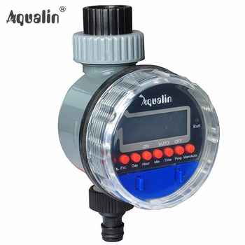 Aqua-Smart Electronic LCD Display Home  Ball Valve  Water Timer Garden Irrigation Controller System #21026