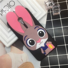 Fashion Cartoon Rabbit Cat Clear Black TPU Case MeiZu M3 Mini Soft Silicone Phone Back Cover MeiZu M3S Cases Capa