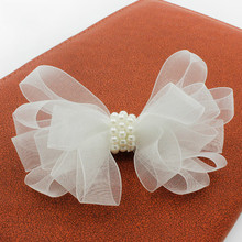 Children With A White Star Baby Hair Ribbon Pearl Jewelry Magazine Article Hairpin Acessorio Para Cabelo T