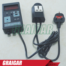 PH-203 Digital pH Controller,ORP Controller, ph tester, ph meter, Free shipping cost of Fedex, EMS,DHL(China)