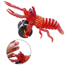Children Pulling Line Small Toys Lobster new Gags & Practical Jokes 1pc Crab Mouse Bee Bird Frog W15(China)