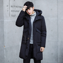 -30 Degree Temperature 2017 Long Thick Warm Parka Casual Winter Jacket Men(China)
