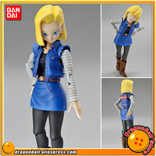 "Japan Anime ""Dragon Ball Z"" Original BANDAI Figure-rise Standard Assembly Action Figure - Android #18 Plastic Model"