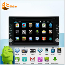 Android 5.1 Quad Core in dash 2 Din Car dvd gps Audio Stereo GPS Navigator Double 2Din HD touch screen Automotive dvd radio gps