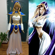 DOTA 2 Crystal Maiden CM Rylai Crestfall Cosplay Costume Anime Custom Made Uniform