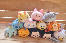Tsum Tsum Plush Toys Lilo & Stitch kids Plush Toys Stuffed Dolls Pendant Doll Phone Clean & Protect Christmas gift