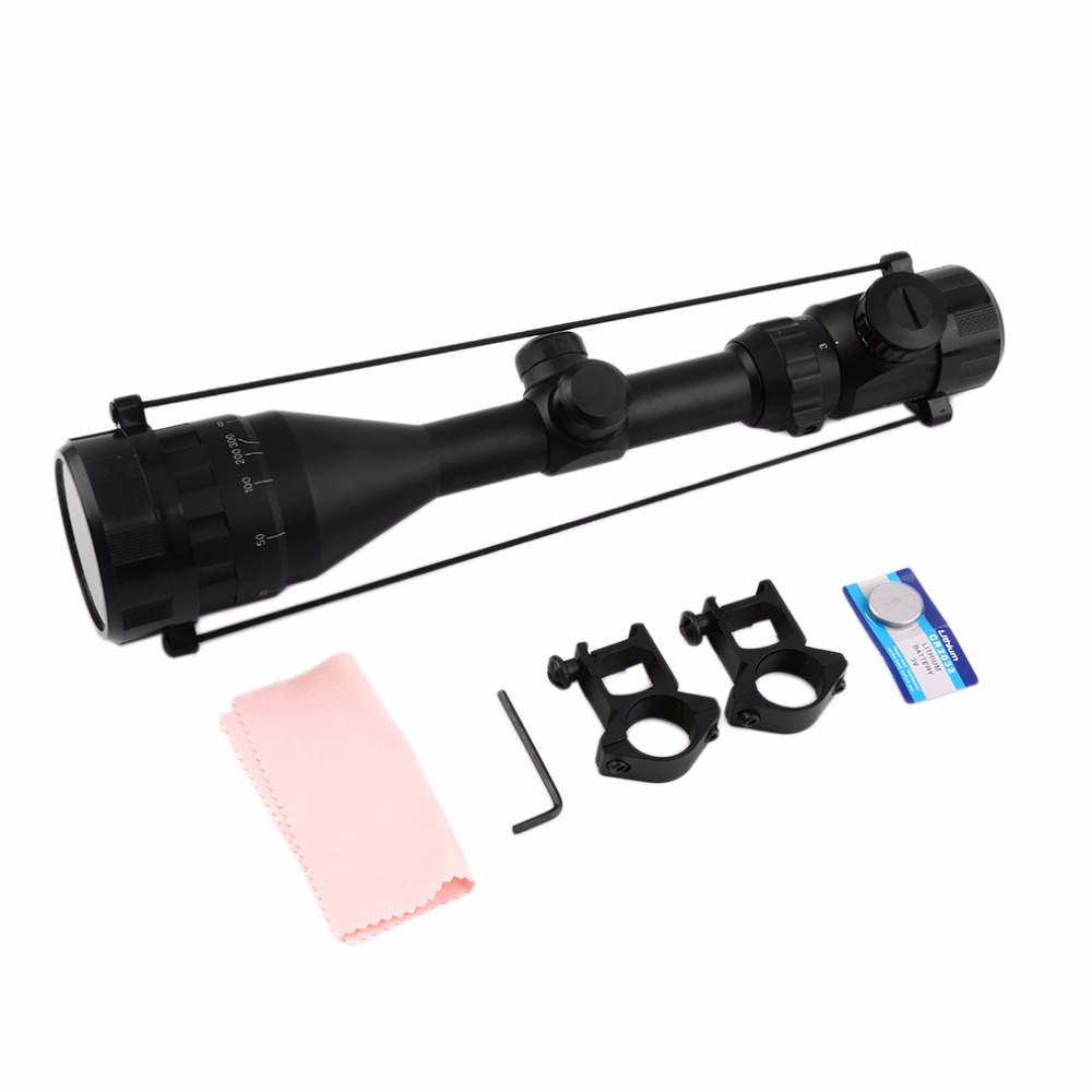 Hunting Scope 3-9X50 Red Green Dot Sight Scope Illuminated Telescopic Scope Tactical hunting sight sight<br>