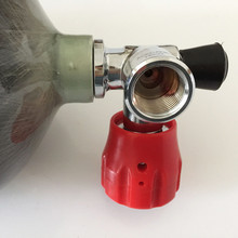 Professional diving cylinder/6.8l 30Mpa 4500psi carbon fiber cylinder/oxygen carbon cylinder with valve -V