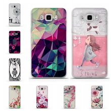 For Samsung Galaxy J5 2016 J510FN J510F SM-J510F Case Silicone Cover for Samsung J5 Cases 3D Relief Soft Mobile Phone bags 5.2""