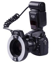 VILTROX JY-670C E-TTL Auto Exposure Macro Ring Lite Flash Speedlite for Canon DSLR Cameras JY670 JY670C