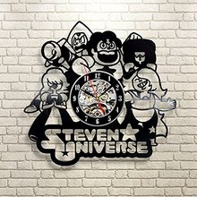 Steven Universe Quotes Vinyl Record Clock Wall Art Home Decor
