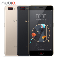 "Original ZTE Nubia M2 4G LTE Snapdragon 625 Cell Phone 5.5"" 1080P 4G RAM 64GB ROM 16.0MP Dual Card 3630mAh Battery Mobile Phone(China)"