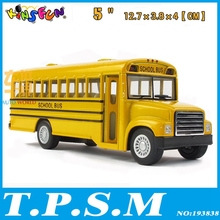 Classical Kinsmart American School Bus Alloy Model Toy Bus With pull back As gift For Boys Childs Children