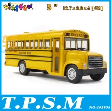 Classical Kinsmart American School Bus Alloy Model Toy Bus With pull back As gift For Boys Childs Children(China)