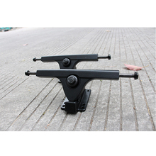 2PCS 7inch 7.25inch Pairs Bears Caliber Style Longboard Truck Skateboard Truck Electrical Skateboard Parts Aluminium alloy Skate(China)