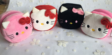 Kawaii NEW 4Colors - Hello Kitty 8CM Approx. Plush Coin Purse , Coin Wallet Pouch Case BAG Gift mini Handbag