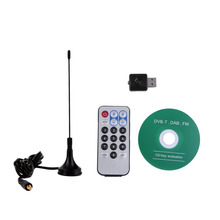 USB DVB-T+DAB+FM HDTV TV Tuner Receiver Stick RTL2832U+R820T  Tuner Receiver Wholesale FREE SHIPING