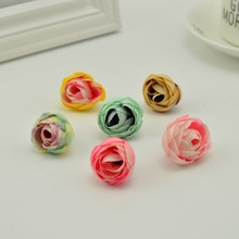 10pcs silk roses gifts scrapbooking craft Fake flower cheap tea bud Artificial Flowers for home Wedding decoration accessories
