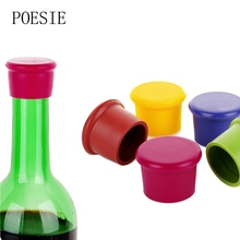 New Arrival  Wine Bottle Stopper Silicone Bar Tools Preservation Wine Stoppers Kitchen Wine Champagne Stopper Beverage Closures