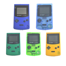 GB Boy Color Colour Handheld Game Consoles Game Player With Backlit 66 Built-in Games For Children Game Console(China)
