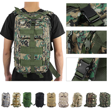 9colors 3P Outdoor Tactical Backpack 30L Military bag Army Trekking Sport Travel Rucksack Camping Hiking Trekking Camouflage Bag