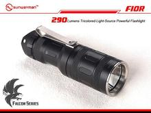 Sunwayman F10R Cree XM-L2 + Red LED + Blue LED 4-Mode 290 Lms Outdoor Camping Hunting Searching Rescue Tactical Flashlight Torch