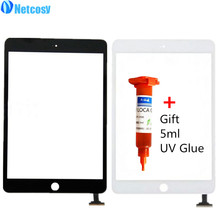 Netcosy Touch Screen Digitizer Front Touch Panel Glass Lens for iPad Mini 1 2 TouchScreen Replacement Parts TP + Repair Glue