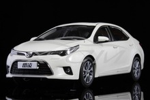 Diecast Car Model 2014 New Toyota Levin Corolla 1:18 (White) + SMALL GIFT!!!!!