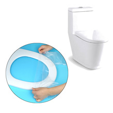 12pcs/Pack Plastic Waterproof Travel Ass Safety Disposable Toilet Seat Cover 26x17cm Disposable Toilet Seat Cover Paper