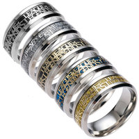 Fashion Hot game League of Legends ring Titanium Steel ring new arrival men ring Commemorative gift Personality ring