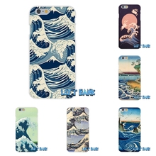 Full Great Wave off Kanagawa Japan Tidal Water Soft Silicone Cell Phone Case For Samsung Galaxy Note 3 4 5 S4 S5 MINI S6 S7 edge