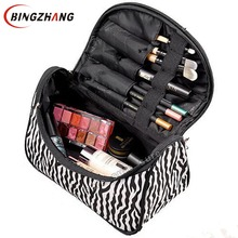 Professional Cosmetic Bag Large Capacity Portable Women Makeup cosmetic bags storage travel bags L4-1075(China)