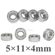 8pcs Ball Bearings 5x11x4mm Replacement of TRA5116 For Traxxas Slash Rustler 4x4 1/10 RC Car Spare Parts Fit HPI Savage XS Flux
