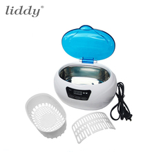 Nail Tools Ultrasonic Cleaner With Digital Timer 600ML For Dental Tools Watch Earing Necklace & Salon Beauty Equipment